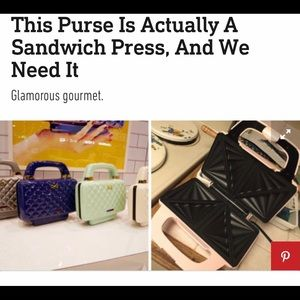 Other - Stylish Sandwich Press